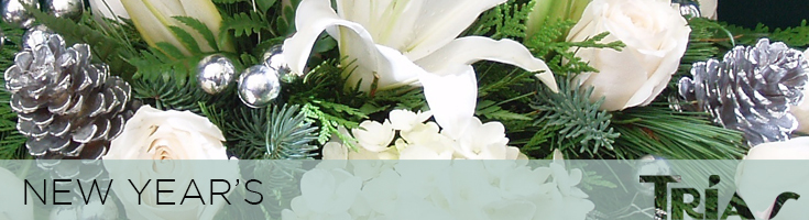 New Year's Flowers & Gifts